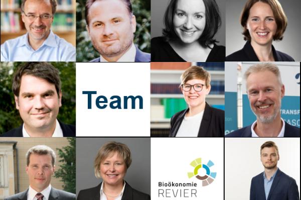 BioökonomieREVIER-Team