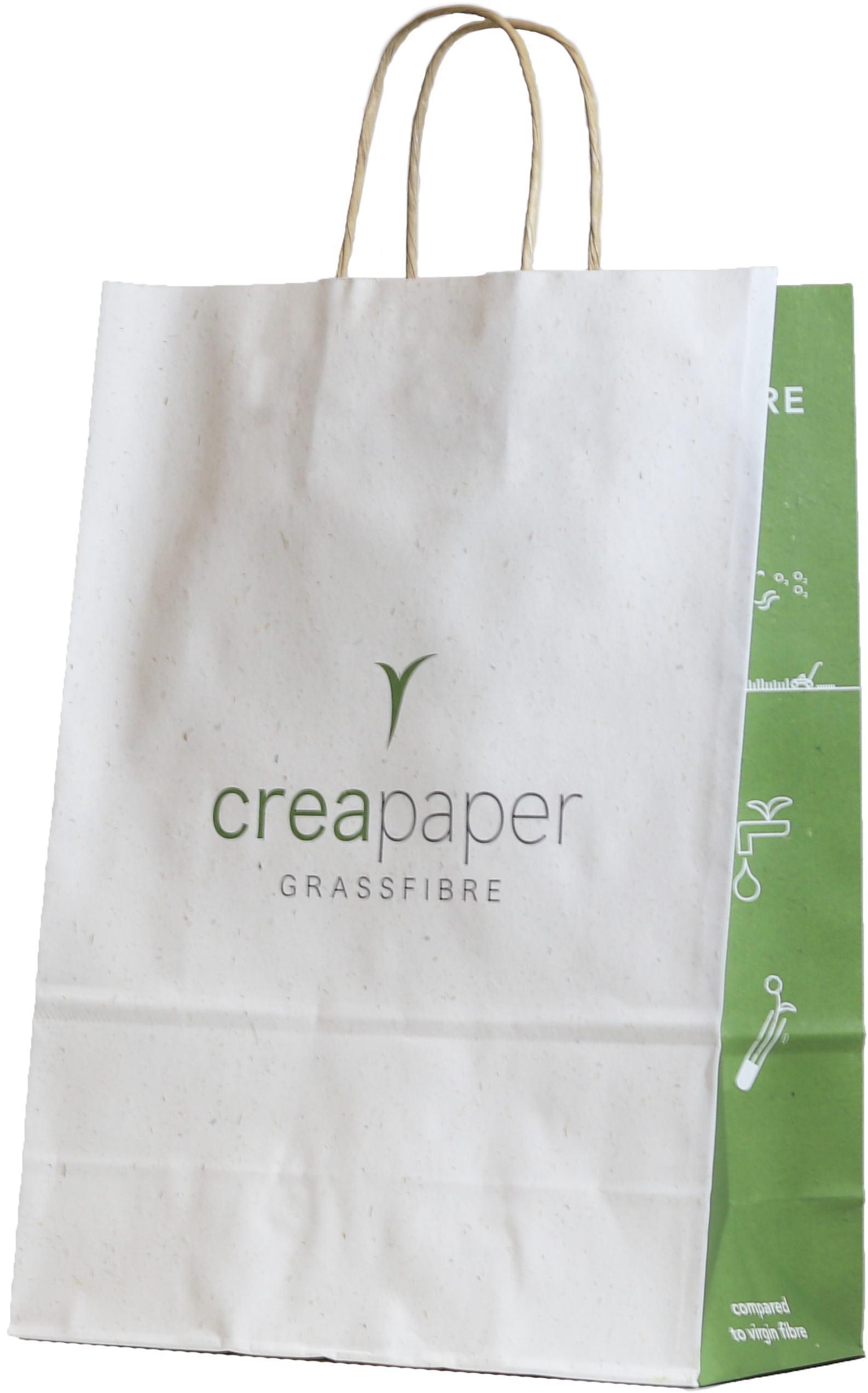 Tüte aus Graspapier